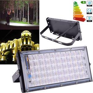 Led Floodlight Sensor Motion 50w Security Flood Light