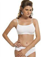 ladies seamless sport  crop top comfort  bra stretch 3items