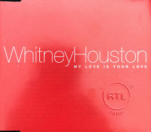 Whitney-Houston-Maxi-CD-My-Love-Is-Your-Love-Promo-Europe-EX-EX