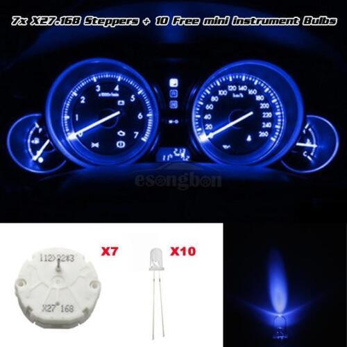 12V Blue Bulb 7 For 03 04 05 06 GMC Silverado CLUSTER STEPPER MOTOR x27-168 10