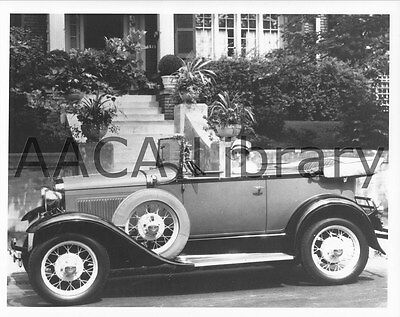 Ref. # 41773 1930 Ford Model A Deluxe Phaeton Factory Photo