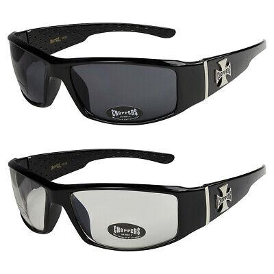 2er Pack West Coast Choppers Sport Brille Sonnenbrille Männer Frauen schwarz