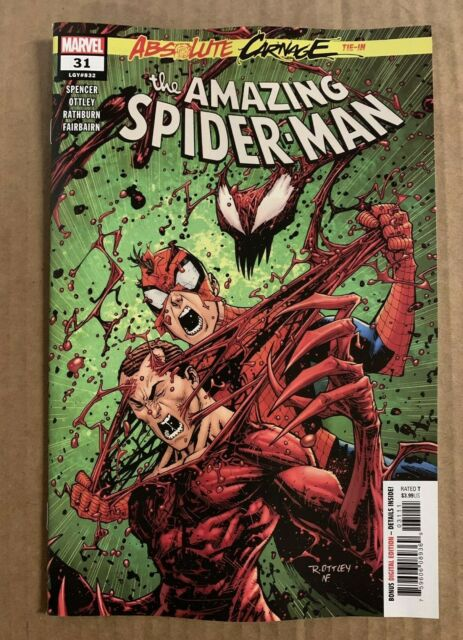 AMAZING SPIDER-MAN #31 FIRST PRINT MARVEL COMICS (2019) ABSOLUTE CARNAGE