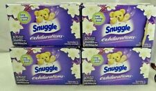 Snuggle Exhilarations Fabric Softener Dryer Sheets, Lavender & Vanilla Orchid,