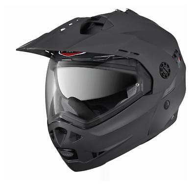 Caberg Casco Pieghevole Tourmax Matt Gun Metallizzato Xl Casco Casco Moto Integrale Viaggi-mostra Il Titolo Originale