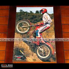 PHILIPPE BERLATIER sur MONTESA en 1987 - Poster Pilote Moto TRIAL #PM1270