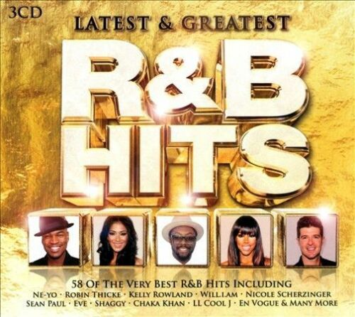 Latest Greatest R B Hits Box By Various Artists Cd 2013 3 Discs Usm Media For Sale Online Ebay