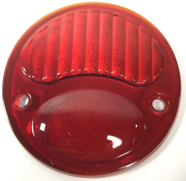 Glass STOP Style Lens,1928,1929,1930,1931,Ford,Taillight,Motorcycle,New,Model A