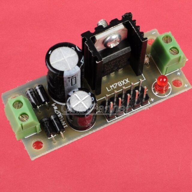 L7805 Step Down 7.5V-35V to 5V DIY Kit Power Supply Module