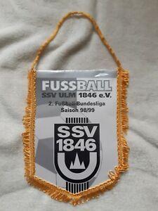 RAR-Orig-Wimpel-SSV-Ulm-1846-Saison-1998-99-Fussball-2-Bundesliga-Wimpel-DFB