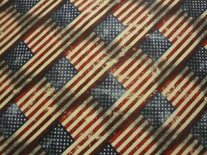 Antique-Flags-in-All-Over-Design-BTY-American-Patriotic-Quilts-of-Valor-Bin