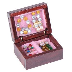 Dollhouse-Miniatures-Jewelry-Box-Doll-Room-Decor-Accessory-1-12LU