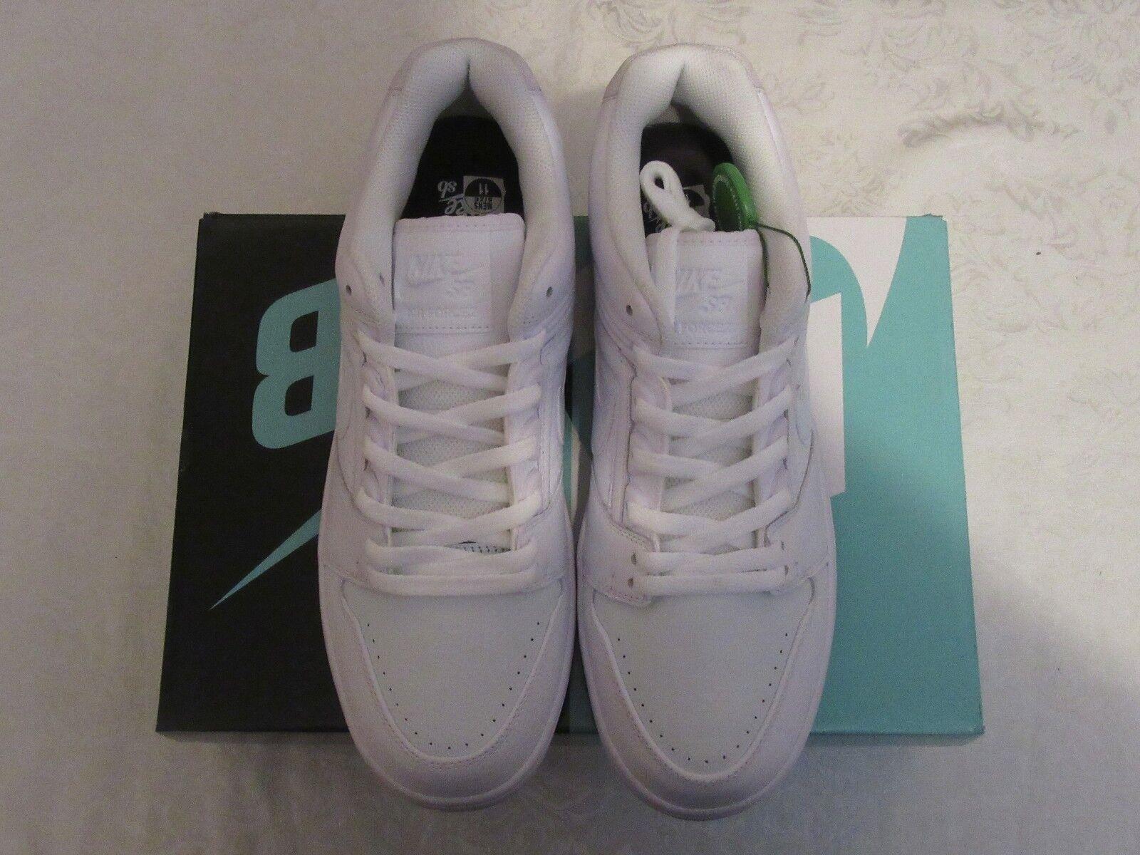 Nike SB Air Force II 2 Low QS White Blue Kevin Bradley AO0298 114 Comfortable