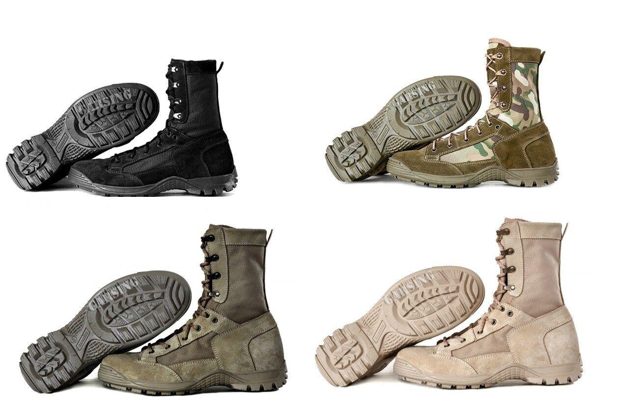 Herren Jungle Garsing Militärstiefel Combat Jungle Herren Kampfstiefel Taktische Stiefel Schuhe aae655