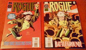 Rogue Limited Edition Mini-Series (X-Men Marvel Comics, Rogue) 1995 1 - 4