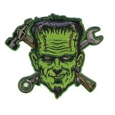 Spare Parts Patch Iron On Frankie Frankenstein Patch Biker Retro Rockabilly