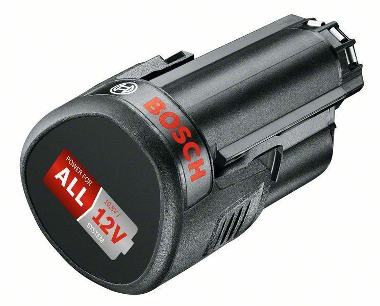 Bosch Heimwerker Akku 10,8-Volt-Lithium-Ionen PBA 12 V 2,5 Ah O-B, Systemzubehör