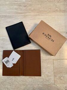 COACH-Leather-Passport-Holder