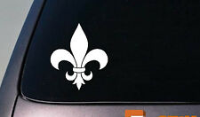 "FLEUR DI LIS STICKER 6"" DECAL VINYL NOLA SAINT ARMS COAT VINYL"