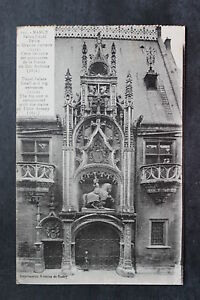 Tarjeta-Postal-Antigua-Nancy-Palacio-Ducal-Pequeno-Y-Gran-Caseta-de