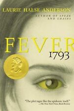 Fever 1793, Laurie Halse Anderson, New Book