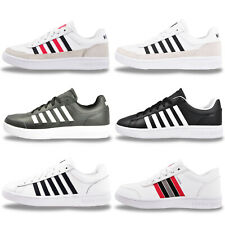 K Swiss Mens LEATHER Classic Retro Fashion Trainers From £19.99 - FREE P&P