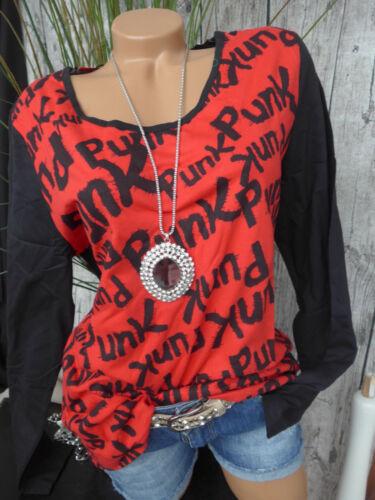 40//42-56//58 Übergröße 406 Sheego Damen Shirt Langarm Langarmshirt Gr