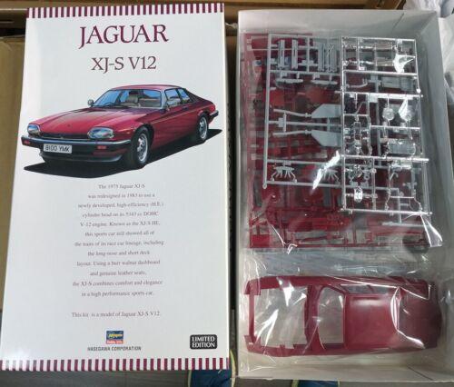 Details about  /JAGUAR XJ-S V12 Hasegawa 1//24 plastic model kit 20321
