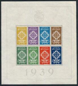 Portugal-1940-Portugiesische-Legion-Blockausgabe-Michel-Nr-1-KW-900