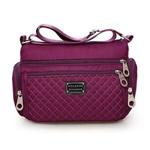 ce715fad9413 Image is loading Women-Crossbody-bags-Veriya-Nylon-Water-Resistant- Lightweight-