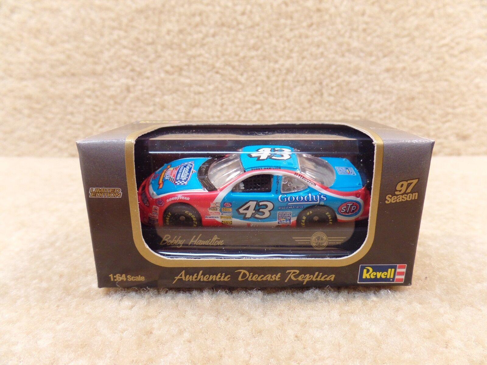 New 1997 Revell 1 64 Diecast NASCAR Bobby Hamilton Goodys Petty STP Grand Prix