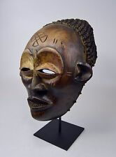 Beautiful Vintage Chokwe Dance Mask , African Art