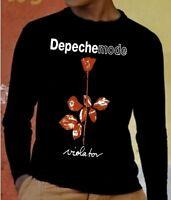 DEPECHE MODE VIOLATOR  Long Sleeve New T-shirt Rock T-shirt Rock Band Shirt