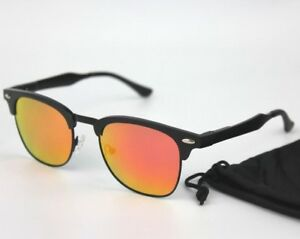 Alloy Lens Lightweight Sunglasses Polarised Oval Ultra Mirrored zpqg61