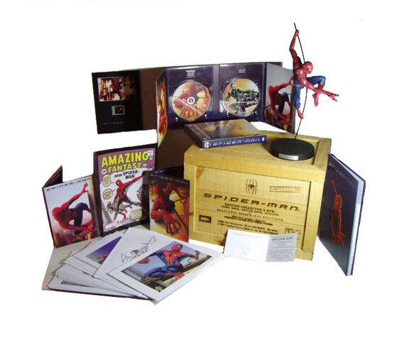 EXCLU RARE  SPIDER-MAN Coffret Bois Collector Ultimate  5000ex Monde