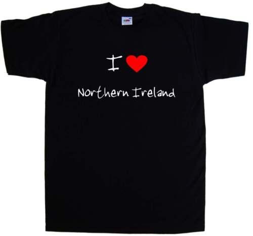 I Love Heart Northern Ireland T-Shirt