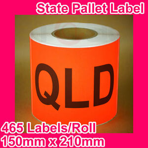 5-Rolls-of-State-Label-Pallet-Label-QLD-150mm-x-210mm-2325-Labels-in-total