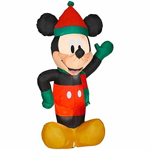 6 foot airblown inflatable christmas disney mickey mouse ebay - Inflatable Christmas