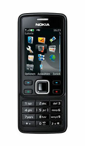 nokia 6300 neu schwarz neu handy ohne simlock ebay. Black Bedroom Furniture Sets. Home Design Ideas
