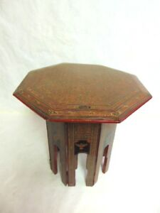 Image Is Loading VINTAGE ANTIQUE HAND PAINTED CHINESE TIBETAN TABLE