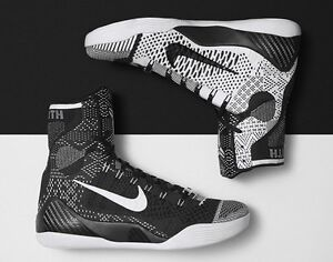 sale retailer 90a7b 30f09 Image is loading Nike-Kobe-9-IX-Elite-BHM-size-10-