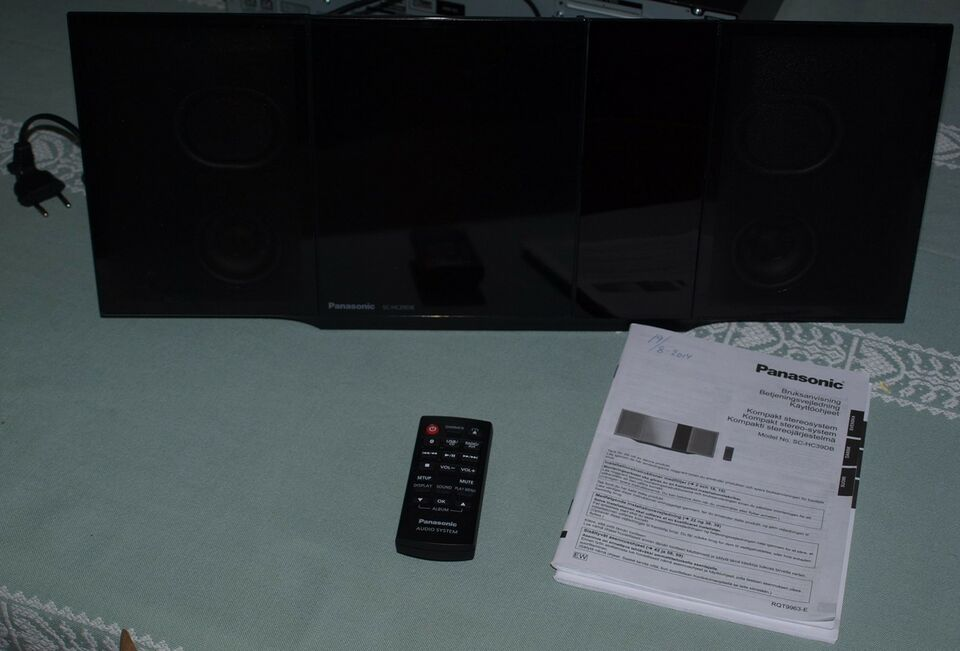 Anden radio, Panasonic, Kompakt stereo-system