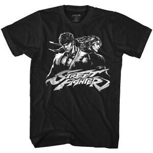 50795aa1ffe4 Details about Street Fighter Ryu Versus Ken Masters Men s T Shirt Vintage  Arcade Gamer Capcom