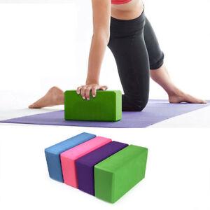 Bloque-de-Yoga-Pilates-Foam-Espuma-Ladrillo-Stretch-Salud-Ejercicio-Gimnasio-Tamano-23cm
