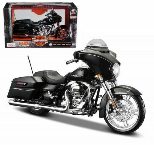 Maisto 2015 Harley Davidson Street Glide Motorcycle 1 To12 Scale Model  Black for sale online | eBay