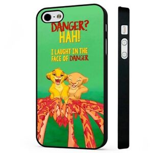 Dettagli su DISNEY Il Re Leone Simba Nala Cuccioli Carini Nero Telefono Custodia Cover si adatta iPhone- mostra il titolo originale