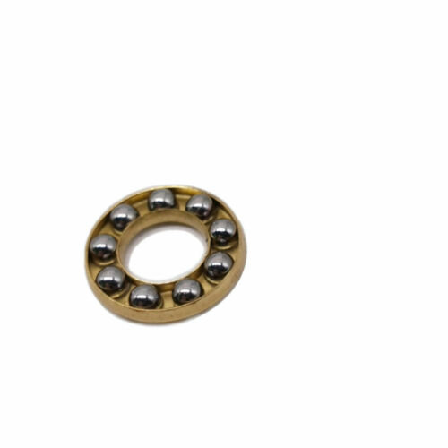 US Stock 10pcs F6-12M Axial Ball Thrust Bearing 3-Parts 6mm x 12mm x 4.5mm