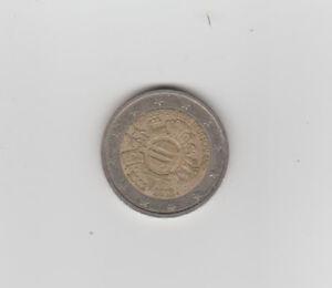 2 Euro Bundesrepublik Deutschland 2002 2012 Fehlprägung