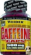 Weider Caffeine Caps 110 Kapseln Guarana Koffein Kapseln (17,01 EUR pro 100 g)