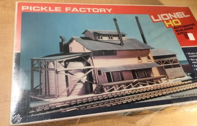 Lionel Ho Pickle Factory Building 5-4551 Kit